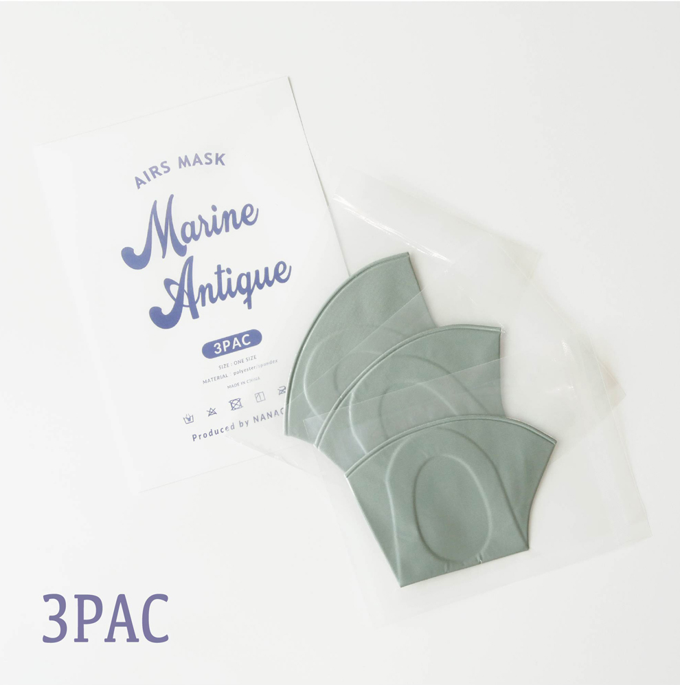 "AIRS MASK ""Marine Antique"" 3枚入"