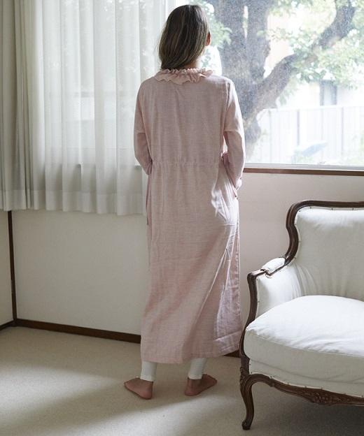 ローズマリーガーゼ ロングスリーブドレス