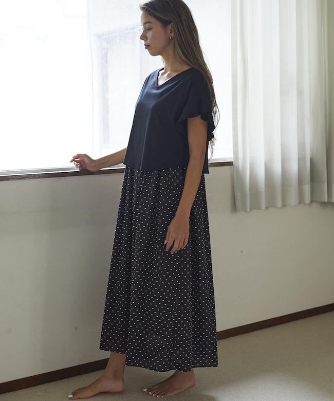 【オンライン先行】スノードット3WAYドレス