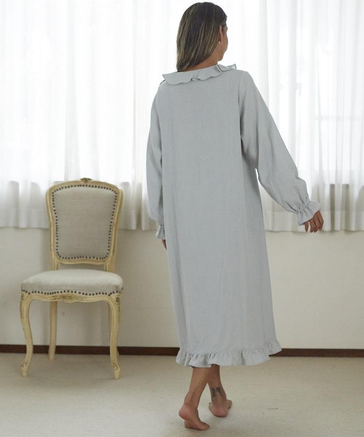 リリーガーゼ刺繍ドレス
