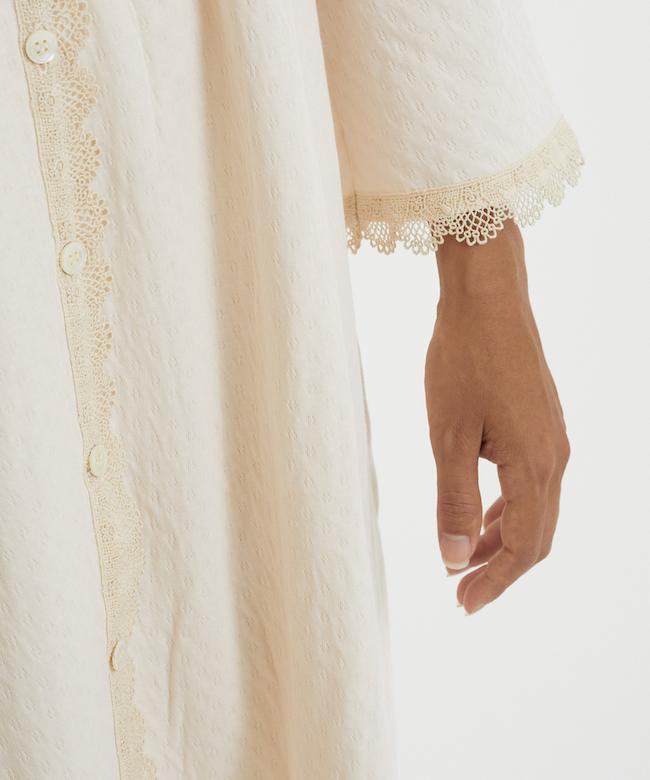 Nスズランギャザードレス ペールピンク