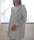 カトレアスムースパジャマ  ライトグレー*上下セット