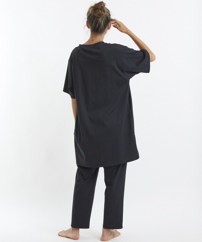 ベルガモットビッグTシャツ ブラック