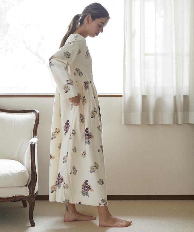 【オンライン先行】ガーデニアネル ギャザードレス