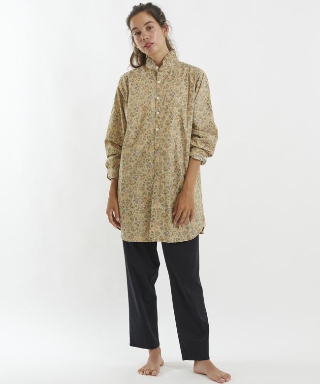 フラワーRMシャツチュニック