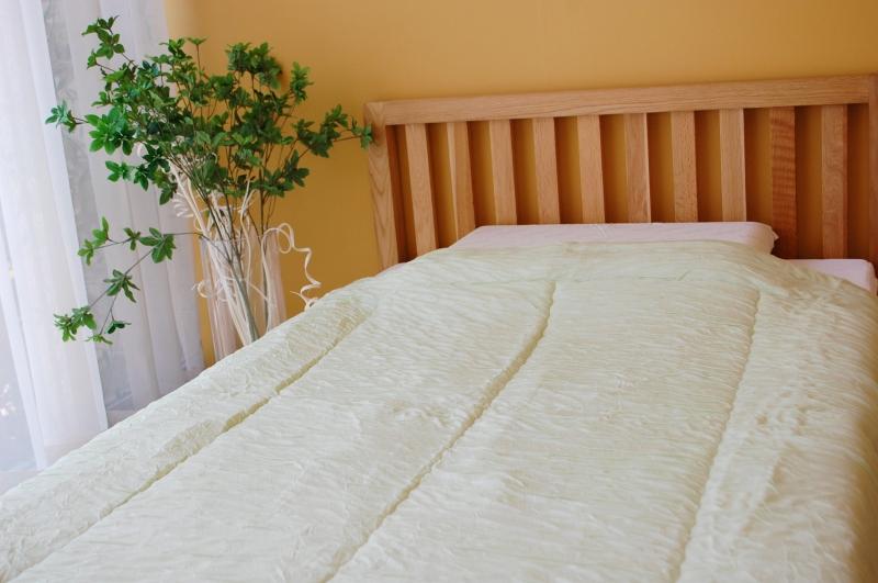 マシュマロフトンSL 【マスカットグリーン】 150×210cm 中綿テンセル100%0.7kg 日本製 木村綿業