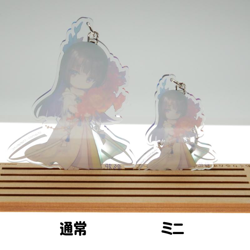 彩花ちゃんアクリルキーホルダー