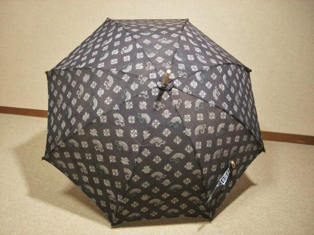 大島紬(おおしまつむぎ)日傘 3