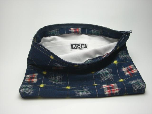 紬(つむぎ)クラッチバッグ 2