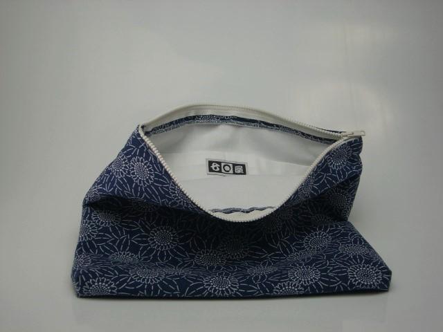 綿(めん)クラッチバッグ 1