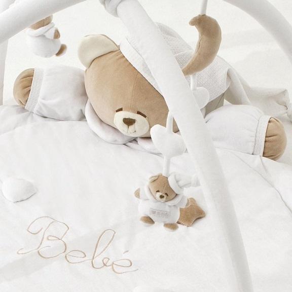 ベビージム(プレイマット) ホワイト