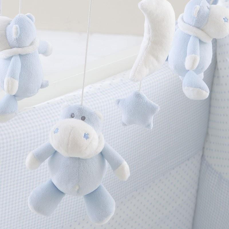 ベッドメリー  ブルー
