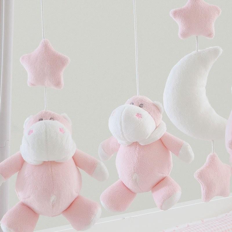 ベッドメリー  ピンク