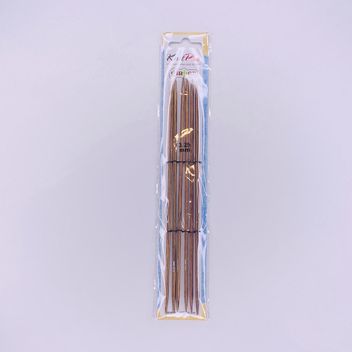 【Ginger】☆両先5本針(棒針) 20cm ニットプロ/ジンジャー