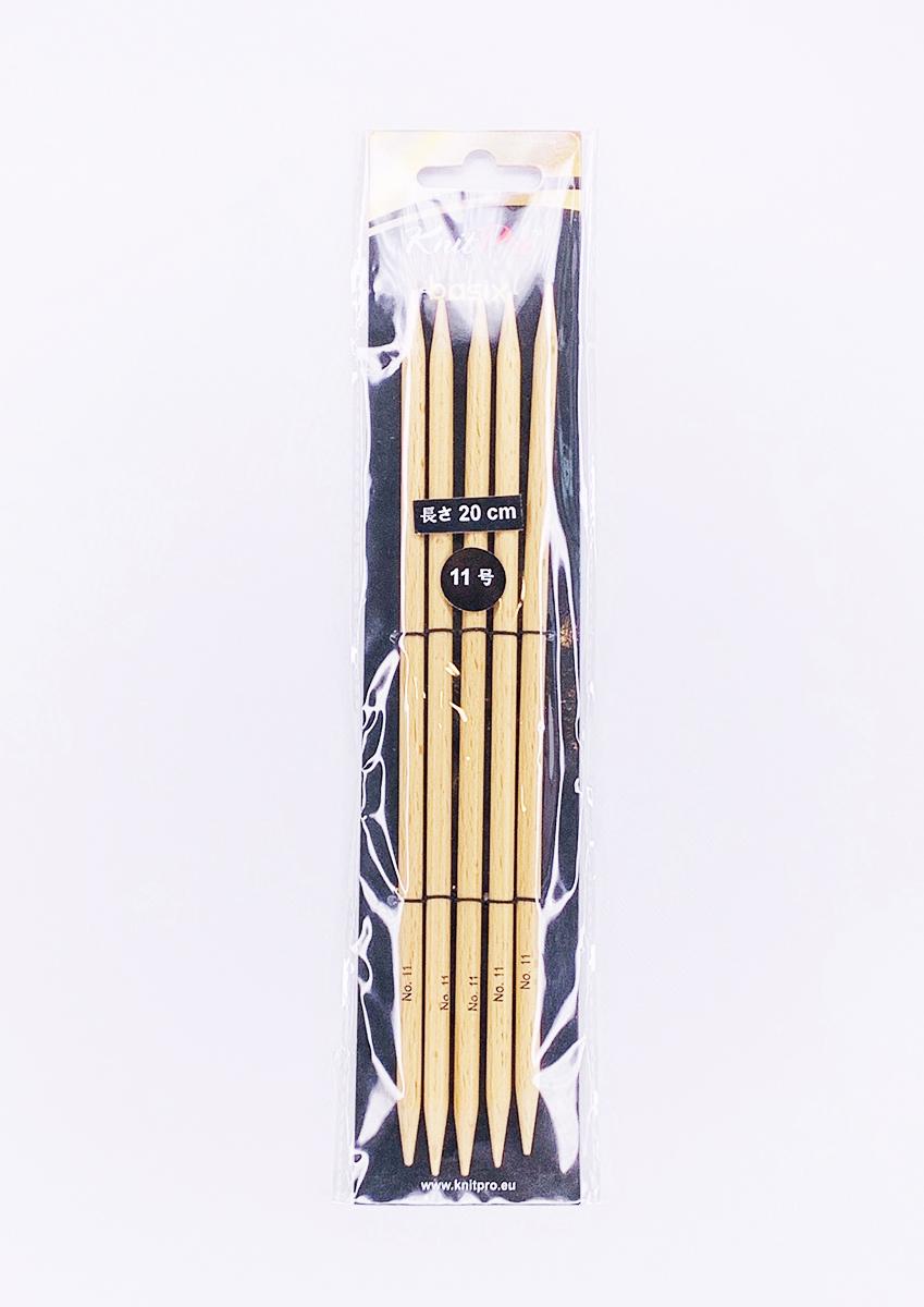 【Basix Birch】☆両先5本針(棒針) 20cm ニットプロ/ベーシックス・バーチ