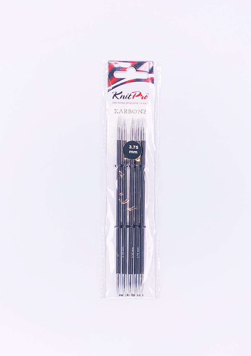 【Karbonz】☆両先5本針(棒針) 15cm ニットプロ/カーボンズ