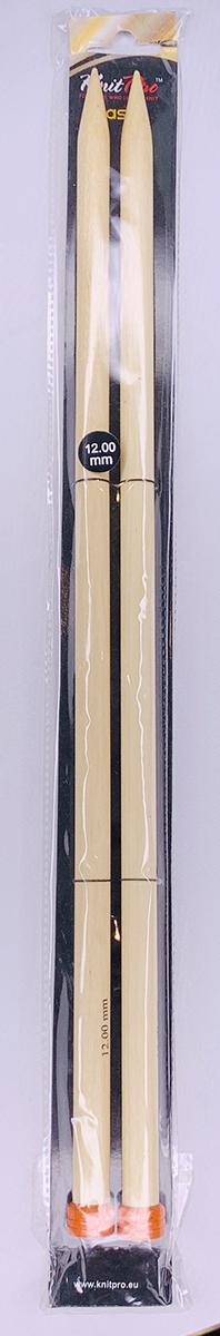 【Basix Birch】玉付2本棒針 40cm ニットプロ/ベーシックス・バーチ