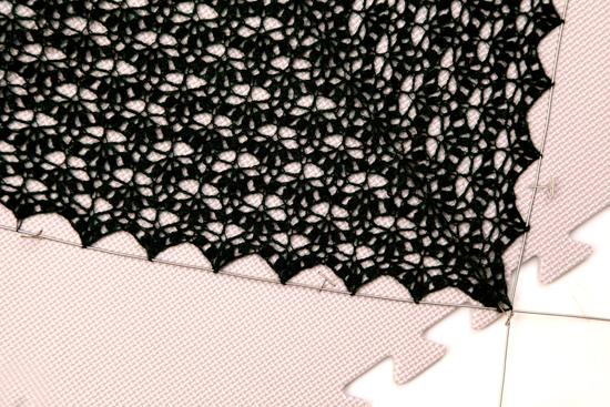 【Lace Blocking】レース編み用マット 9枚セット ニットプロ