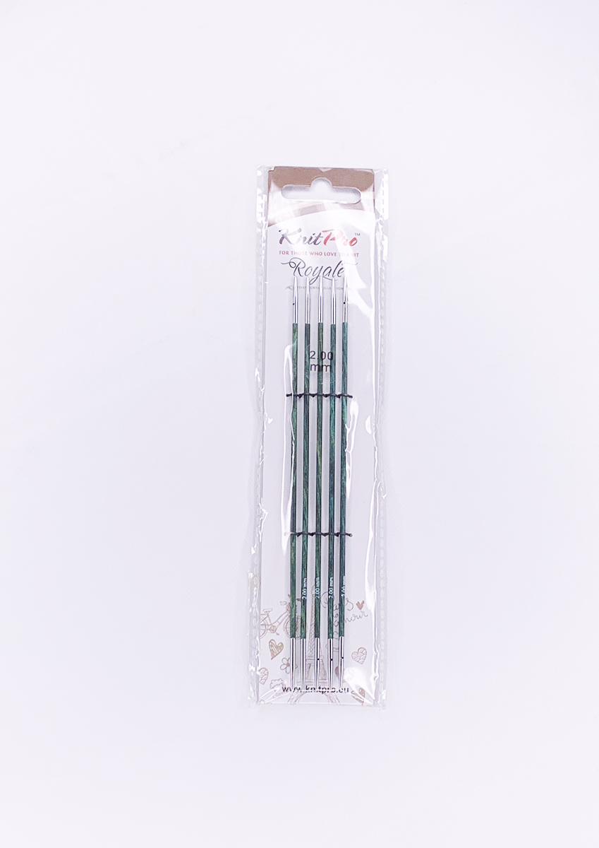 50%OFF【Royale】☆両先5本針(棒針)  15cm ニットプロ/ロワイヤル