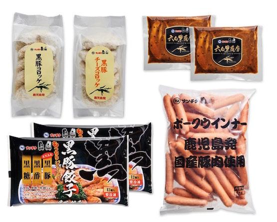 【送料無料】黒豚惣菜セット