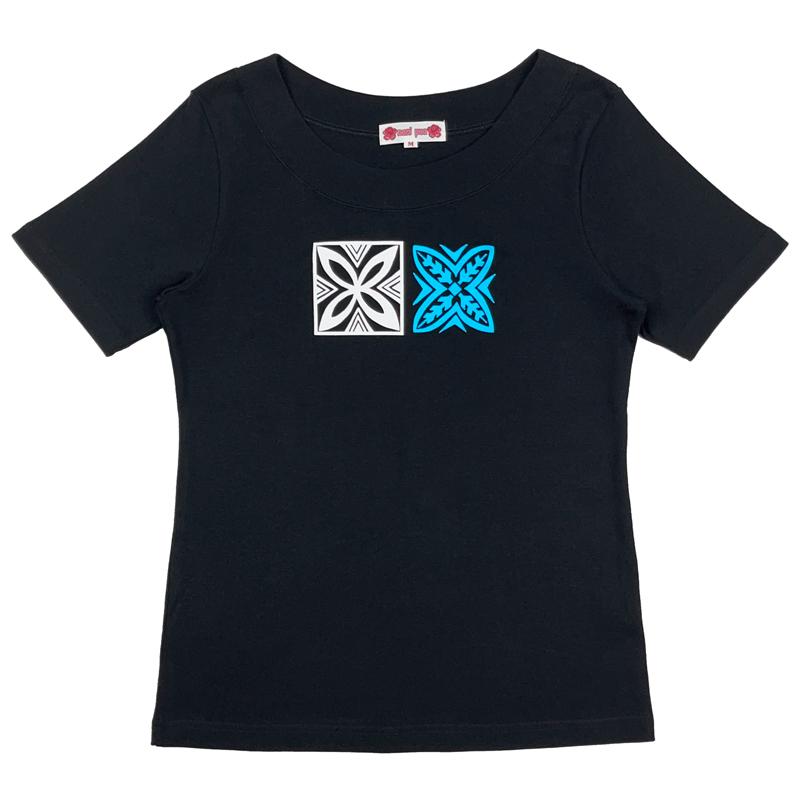 半袖Tシャツ タパティアレ ブラック [TS-1162]