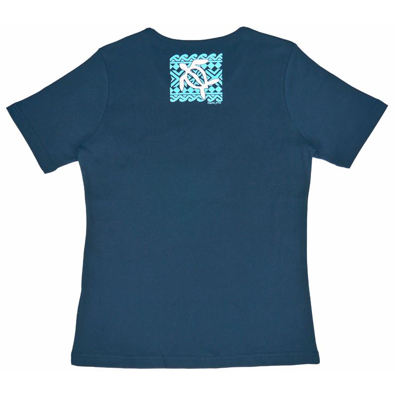 半袖Tシャツ タパホヌ ネイビー [TS-1073]