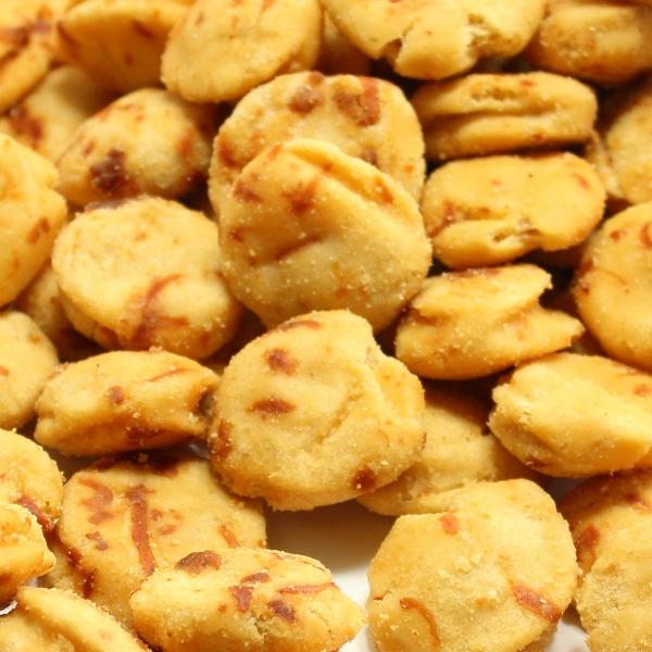 いかピー1kg 濃厚いか風味の落花生豆菓子 業務用大袋