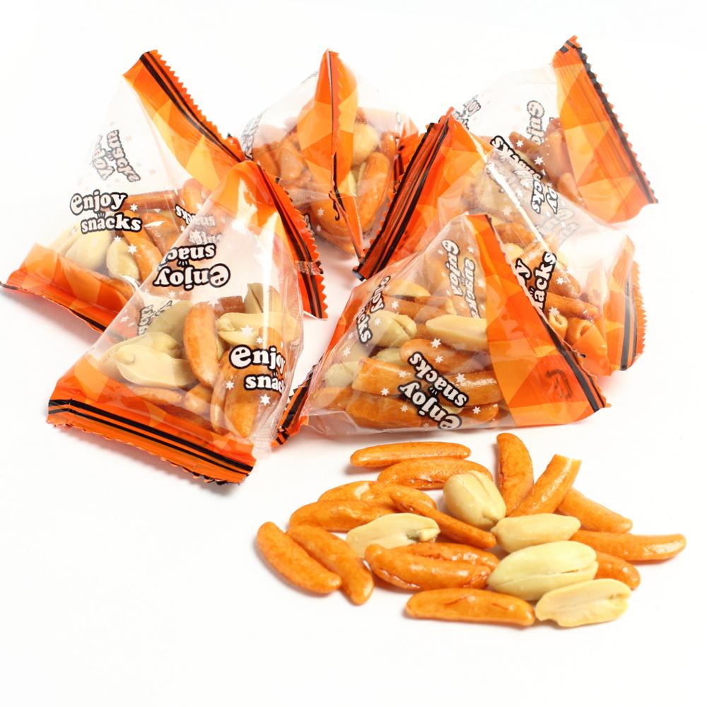 柿ピーテトラパック 1kg×8 定番新潟柿の種 個包装 テトラパック 業務用ケース販売