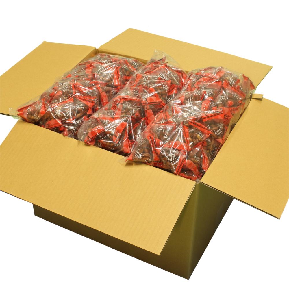 揚げ塩落花生テトラパック 1kg×9 ヒマラヤ岩塩使用の揚げ落花生 個包装 テトラパック業務用ケース