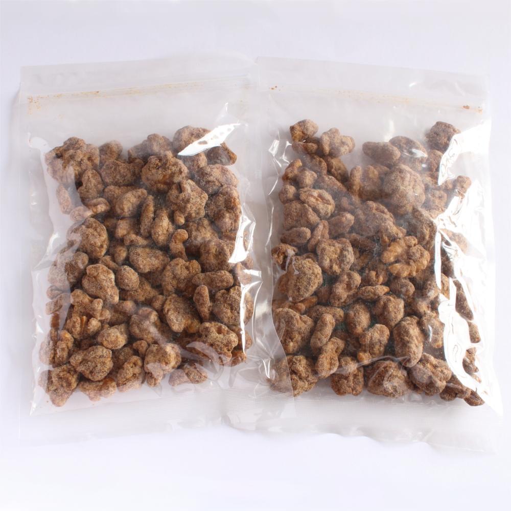 黒糖くるみ 540g 送料無料メール便発送 ローストくるみの黒糖がけ菓子