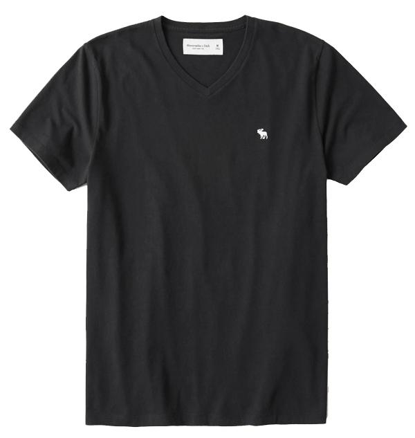 アバクロ Tシャツ メンズ 半袖 ロゴ ブランド シンプル 124-allc abercrombie&fitch 正規 コットン