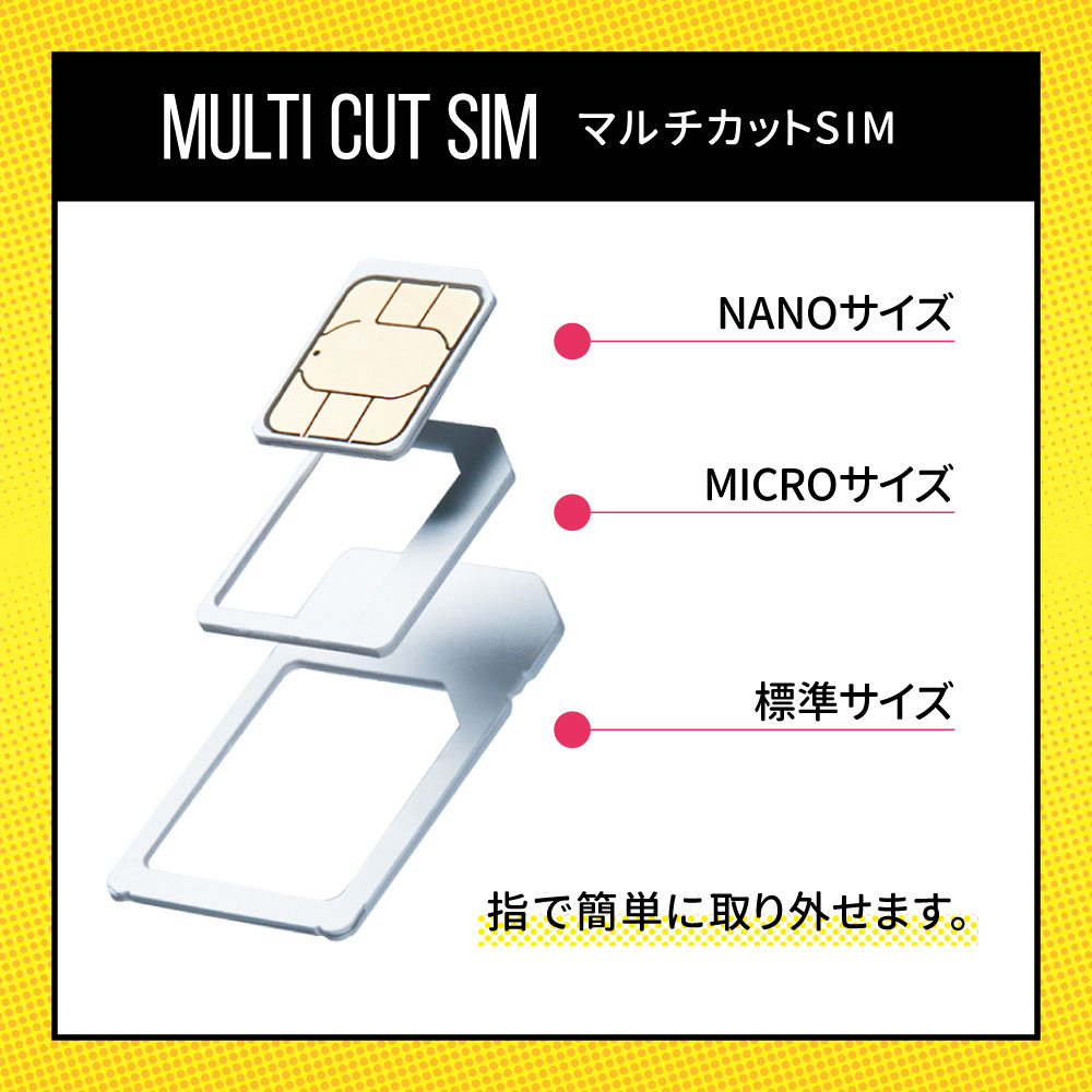 CALENDAR SIMカード 90日100GBプラン[Mプラン] 期間内使い切りプラン