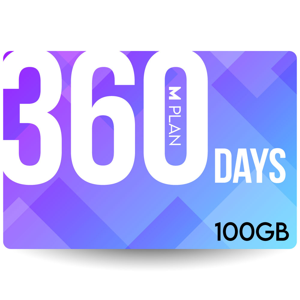 CALENDAR SIMカード 360日100GBプラン[Mプラン] 期間内使い切りプラン