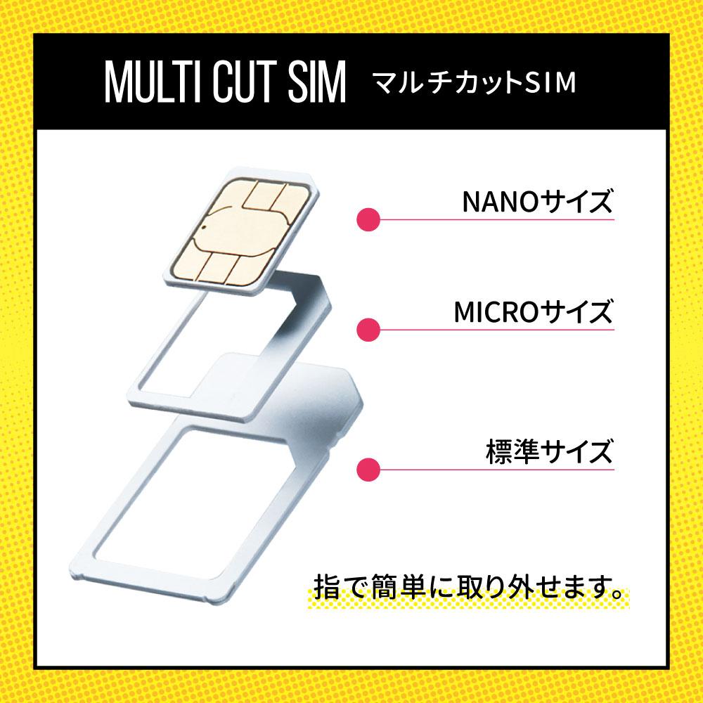 CALENDAR SIMカード 180日50GBプラン[Mプラン] 期間内使い切りプラン