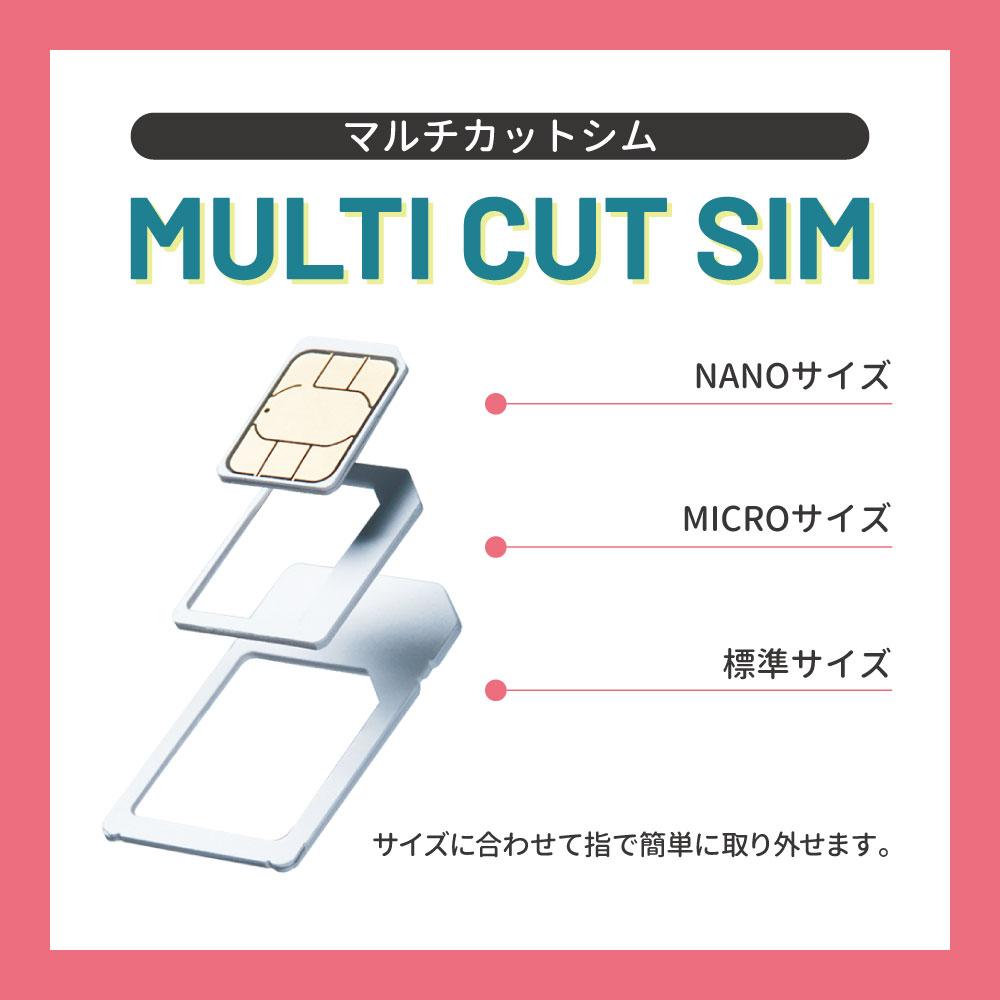 CALENDAR SIMカード 180日10GBプラン[Jプラン]期間内使い切りプラン