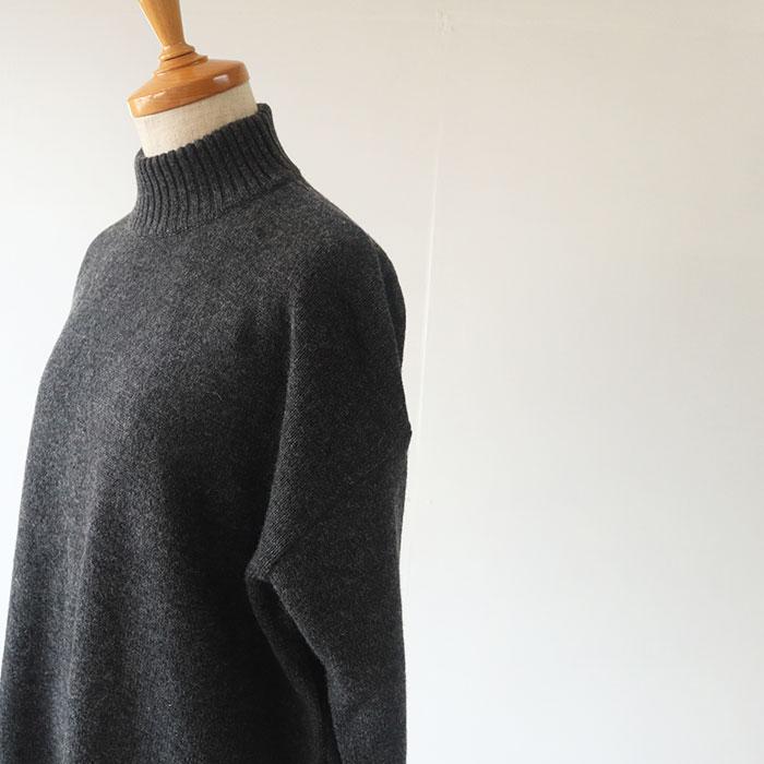 NARU(ナル) Tasmania Lambs7G天竺ハイネックセーター 635700
