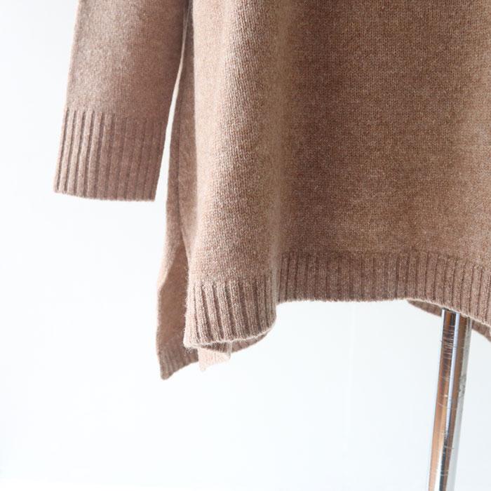 公式オンラインショップ限定追加!<br>予約受付中 ウォッシュピンク11月中旬納期<br>NARU(ナル) Tasmania Lambs7G天竺タートルネック 635701