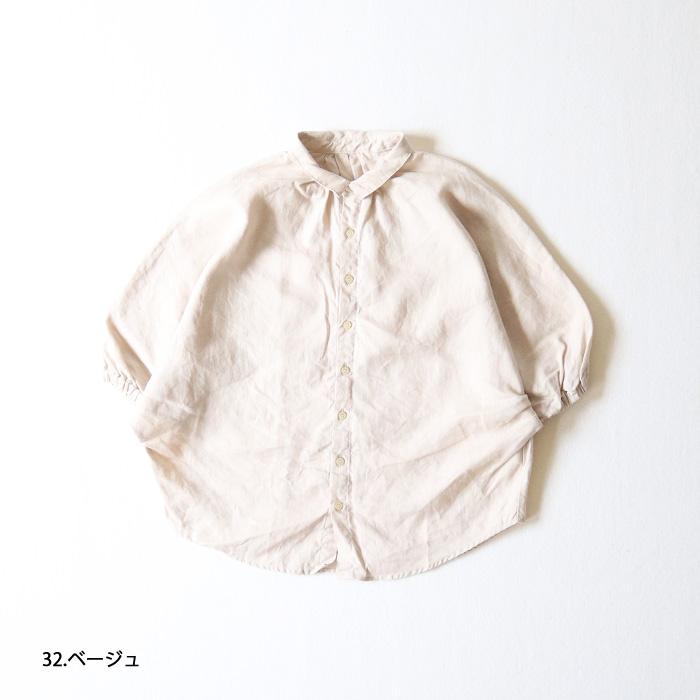 "NARU(ナル) フレンチリネンブラウス""Fleur(フルール)"" 641846"