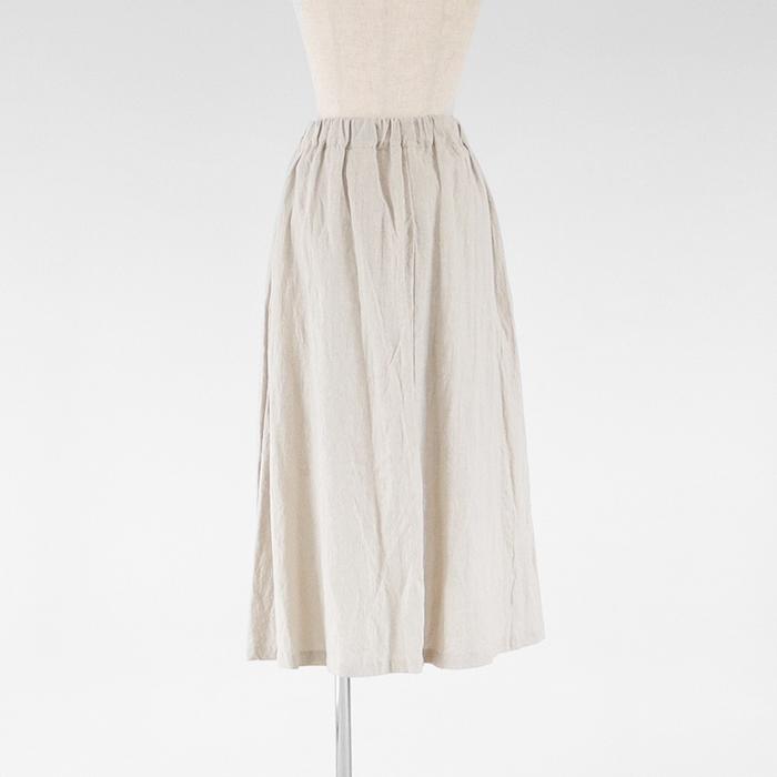 NARU(ナル) あったかフレンチリネン起毛スカート 642811