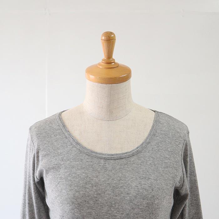 NARU(ナル) ふんわりソフトフライスロングTシャツ 69810B