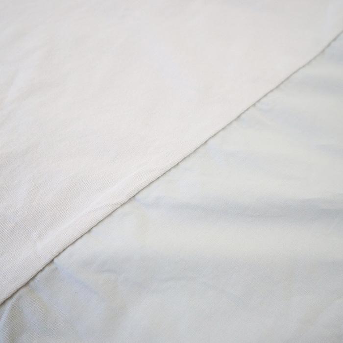 NARU(ナル) 30/1インド綿×ブロードAライン切り替えプルオーバー 640045