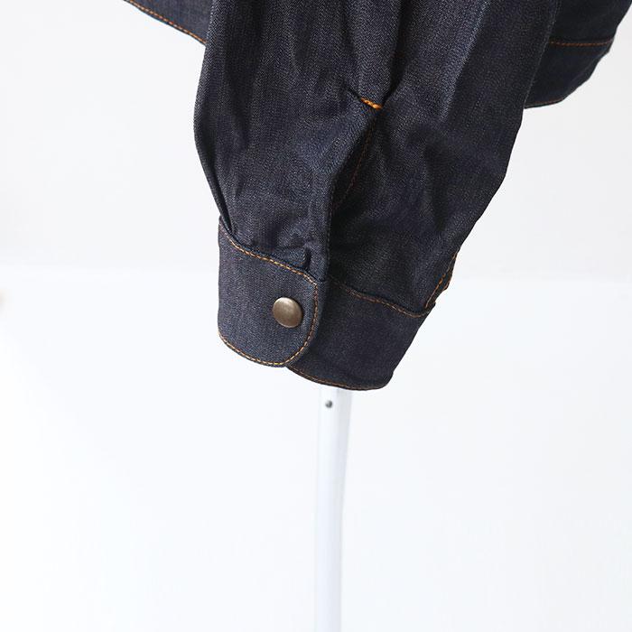 NARU(ナル) 8オンスストレッチデニムジャケット 638410