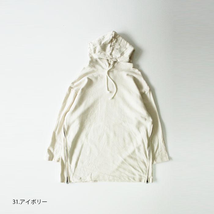 NARU(ナル) 30/10セントラル裏毛サイドジップパーカー 638361