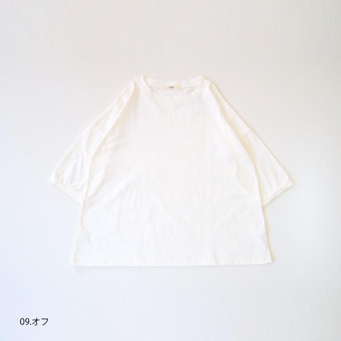 新色入荷!NARU(ナル) 40/2CLASSIC天竺プルオーバー 637435