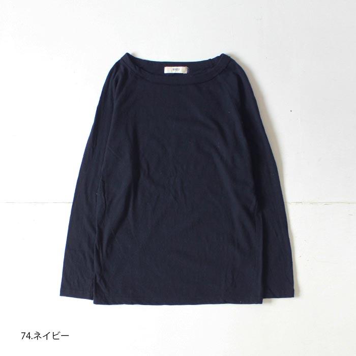 NARU(ナル) ムラ糸リサイクル天竺長袖プルオーバー 623005