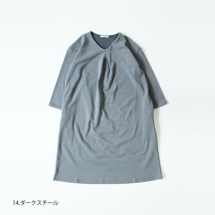 NARU(ナル) MVSストレッチカルゼ裏起毛ワンピース 639221