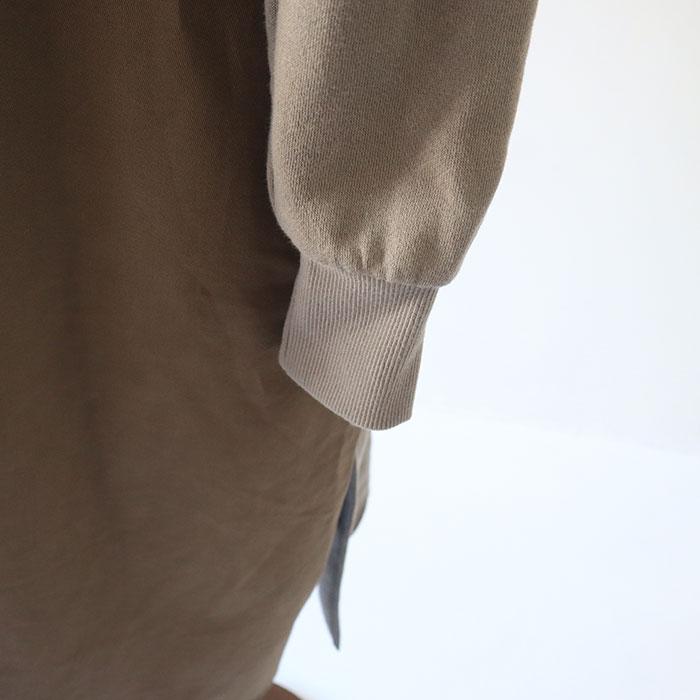 NARU(ナル) 30/10セントラルタンブラー裏毛×20Sツイルピーチ起毛×オールスターベアテレコワンピース 639011