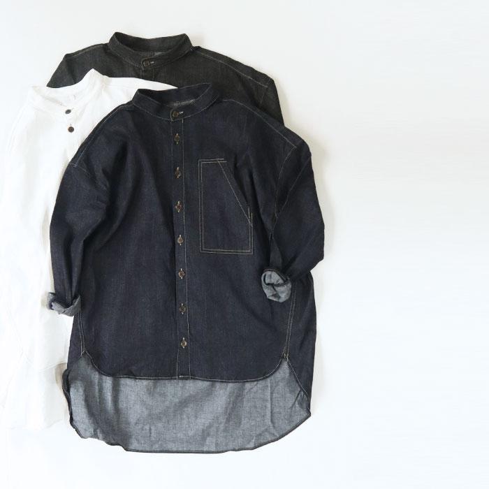 NARU(ナル) 8ozデニムシャツ 639805