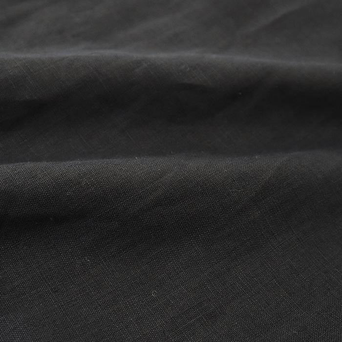 NARU(ナル) 40Sフレンチリネンキャンバスワッシャー(バイオウォッシュ加工)ワンピース 640817