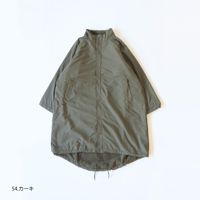 NARU(ナル) タスランリップストップ×アンチピリングフリースコート 634841